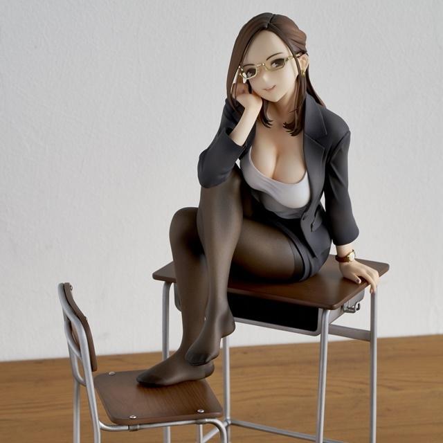 ショートアニメ『みるタイツ』より、「奥墨ユイコ」のフィギュアが登場! 五月病が予想されるアナタを癒やしにきてくれる……!【今なら12%OFF!】-7