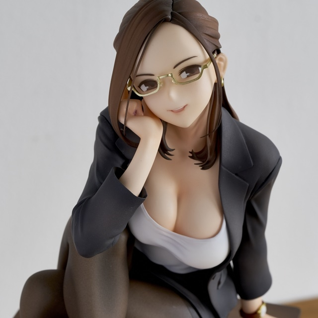 ショートアニメ『みるタイツ』より、「奥墨ユイコ」のフィギュアが登場! 五月病が予想されるアナタを癒やしにきてくれる……!【今なら12%OFF!】-9