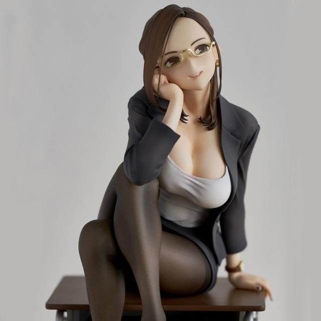 ショートアニメ『みるタイツ』より、「奥墨ユイコ」のフィギュアが登場! 五月病が予想されるアナタを癒やしにきてくれる……!【今なら12%OFF!】-10
