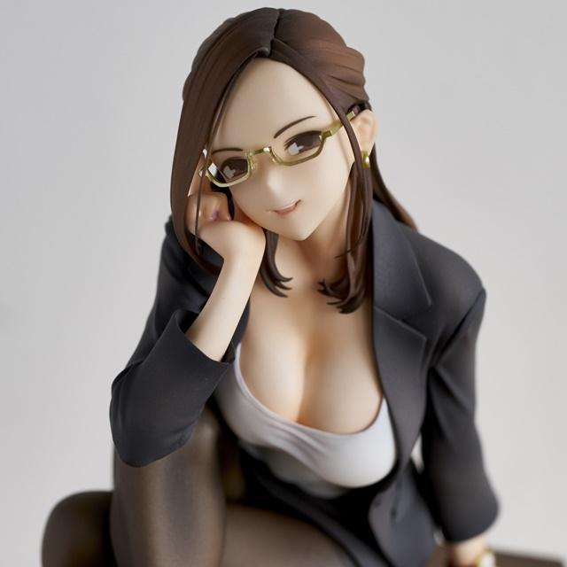 ショートアニメ『みるタイツ』より、「奥墨ユイコ」のフィギュアが登場! 五月病が予想されるアナタを癒やしにきてくれる……!【今なら12%OFF!】-15