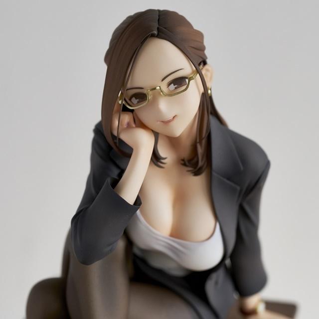 ショートアニメ『みるタイツ』より、「奥墨ユイコ」のフィギュアが登場! 五月病が予想されるアナタを癒やしにきてくれる……!【今なら12%OFF!】