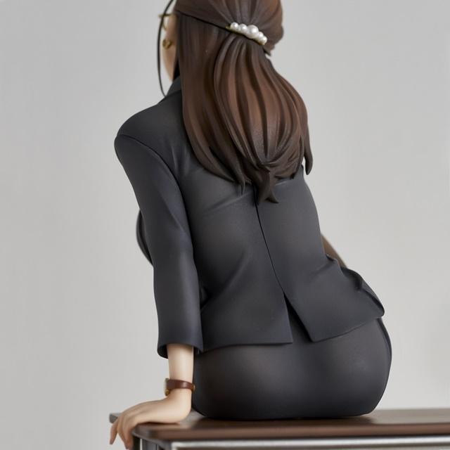 ショートアニメ『みるタイツ』より、「奥墨ユイコ」のフィギュアが登場! 五月病が予想されるアナタを癒やしにきてくれる……!【今なら12%OFF!】-17