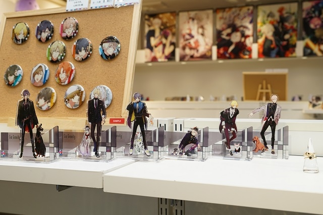 『TSUKIPRO SHOP in HARAJUKU』(2019-2020)は、色&和風がテーマ! 新ユニット「infinit0」も含めた豪華ツキプロタレントたちの新グッズが待つ店内の模様をレポート☆-7