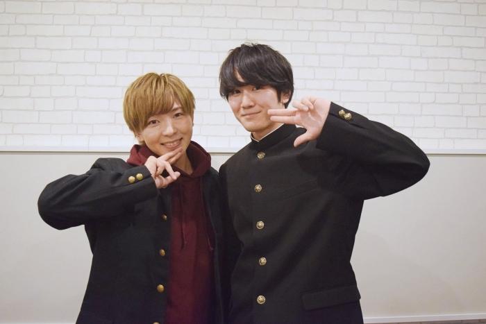 ▲(左)筆村栄心さん (右)三上丈さん