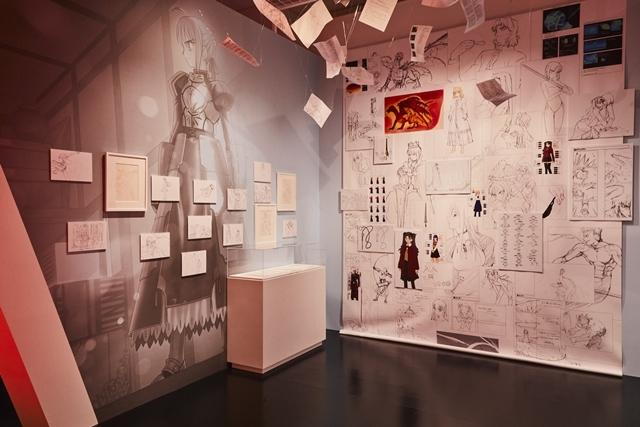 「TYPE-MOON展 Fate/stay night -15年の軌跡- 」内覧会&川澄綾子さんら声優陣登壇のテープカットイベントをレポート|『月姫』からTYPE-MOONの歩みを辿る何もかもが見逃せない空間!-45