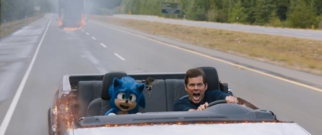 映画『ソニック・ザ・ムービー』US版予告編と新規場面写真が公開! ソニックが音速でひとり遊びにいそしむ姿が見られる!