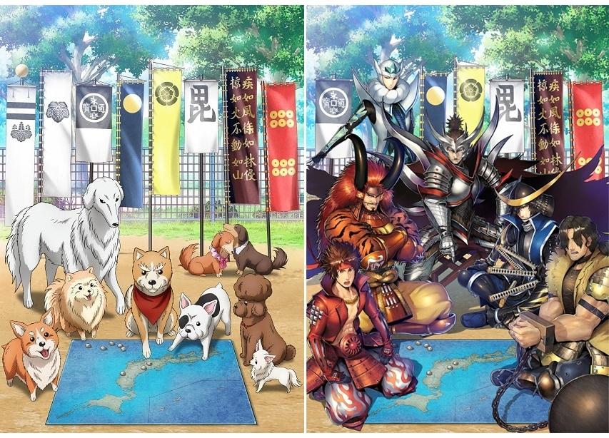 冬アニメ『織田シナモン信長』×『戦国BASARA バトルパーティー』コラボ開催