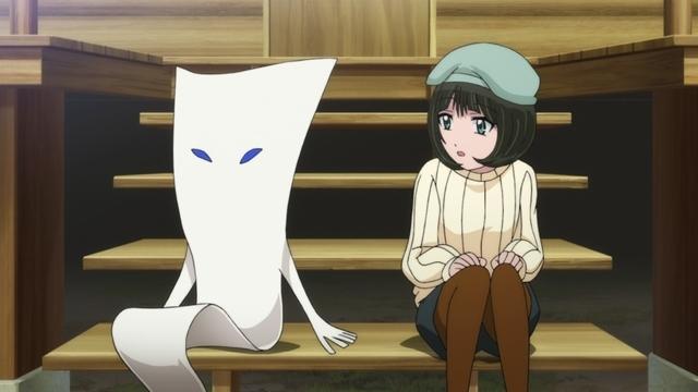 『ゲゲゲの鬼太郎』第88話「一反もめんの恋」より先行カット到着! 傷心の一反もめんは、ビビビハウスへ入居する!?