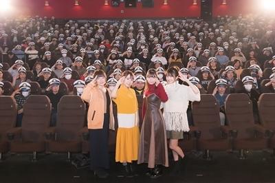 夏川椎菜さん、Lynnさん、種﨑敦美さん、久保ユリカさんが登壇!『劇場版 ハイスクール・フリート』先行上映会公式レポート到着!-1