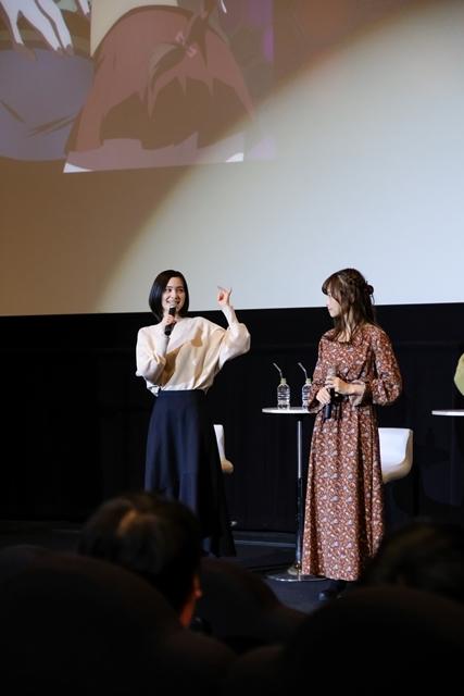 劇場版『巨蟲列島』声優のM・A・Oさん、立花理香さん、麻倉ももさんが初日舞台挨拶に登壇! 3人が語った「印象に残っているシーン」は……?