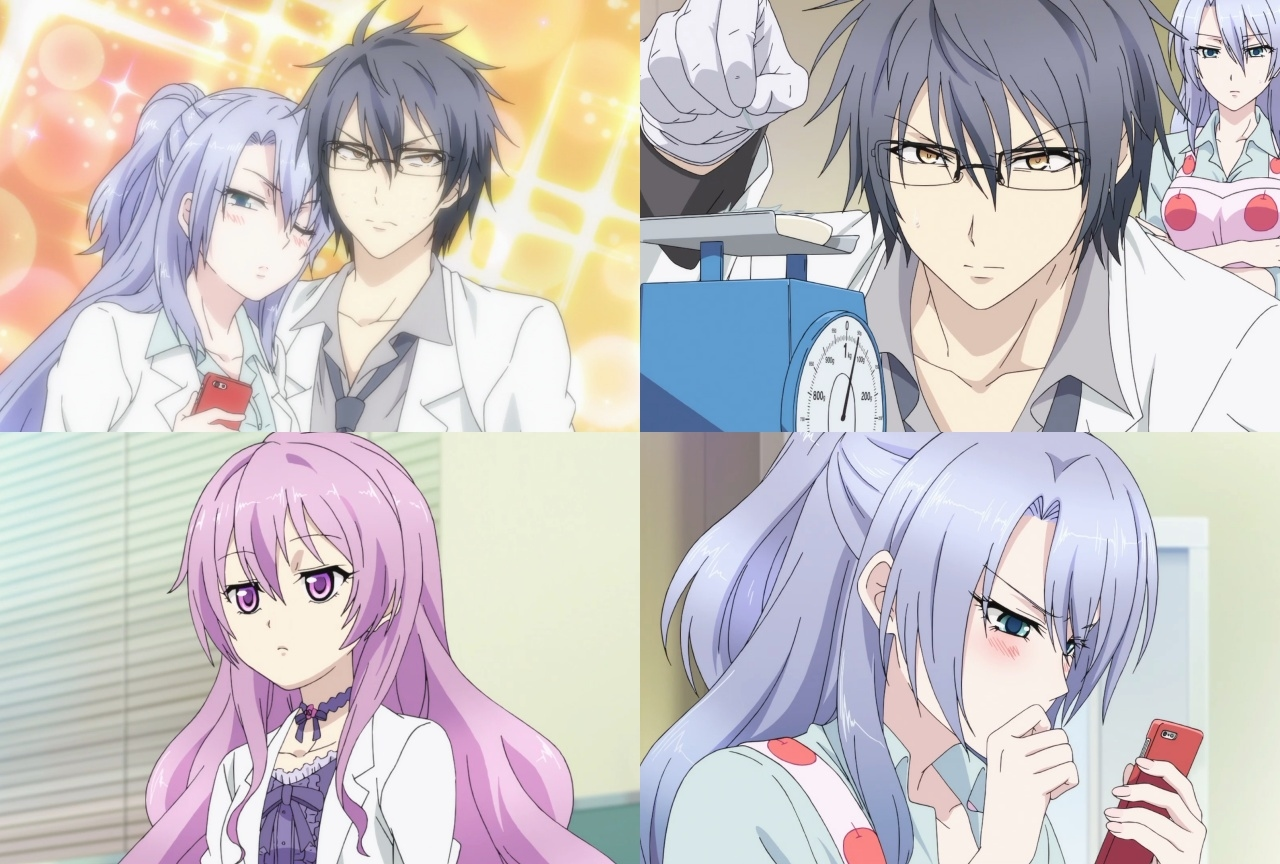 冬アニメ『リケ恋』第2話「理系が恋に落ちたので実験してみた。」先行カット到着