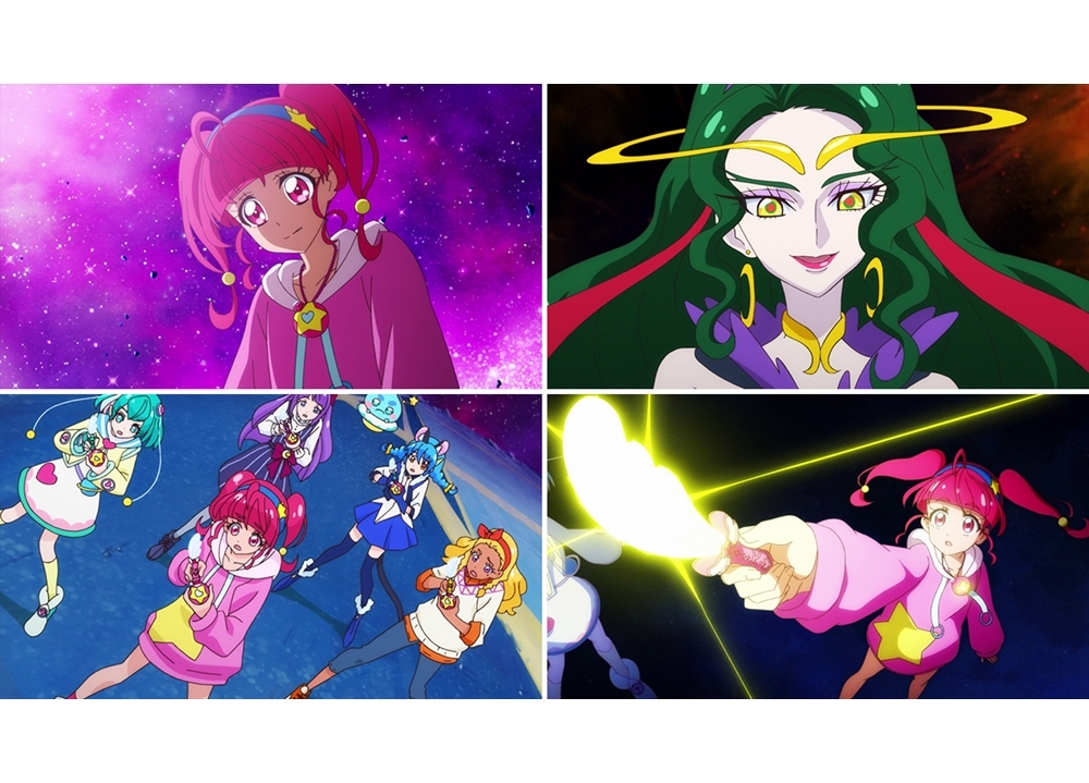 『スタプリ』第48話「想いを重ねて!闇を照らす希望の星☆」より先行カット到着!