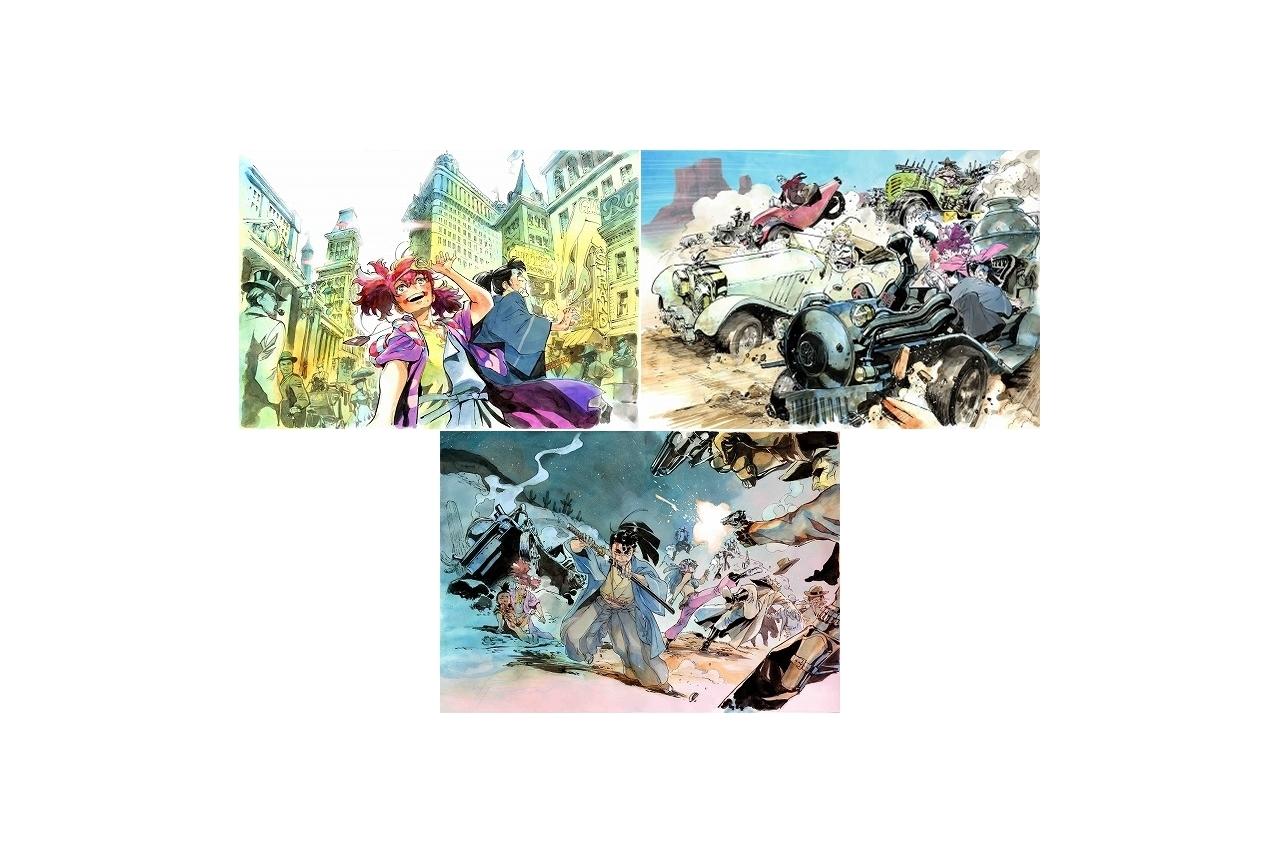 アニメ『天晴爛漫!』アントンシクによるイメージボード公開