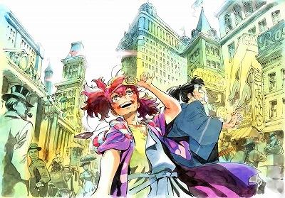 春アニメ『天晴爛漫!』キャラクター原案・アントンシクさんによるイメージボードが公開!
