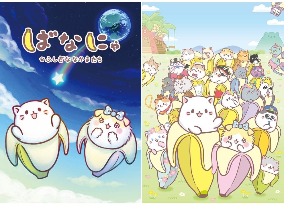 『ばなにゃ ふしぎななかまたち』DVDが4月2日(木)発売