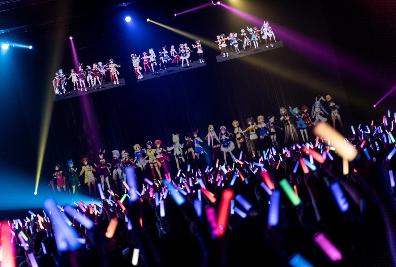 ホロライブ初の全体ライブ『ノンストップ・ストーリー』レポート