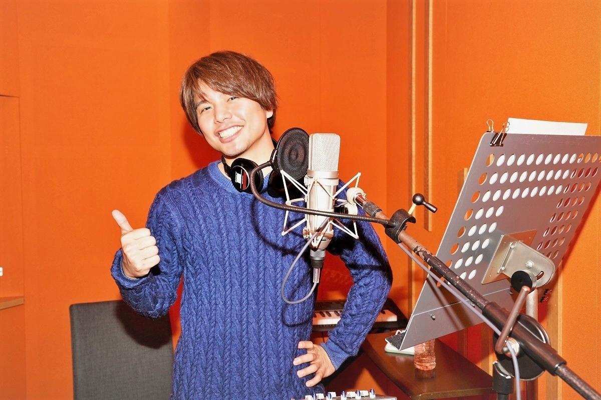 仲村宗悟さん2ndシングル表題曲「カラフル」収録レポ&インタビュー