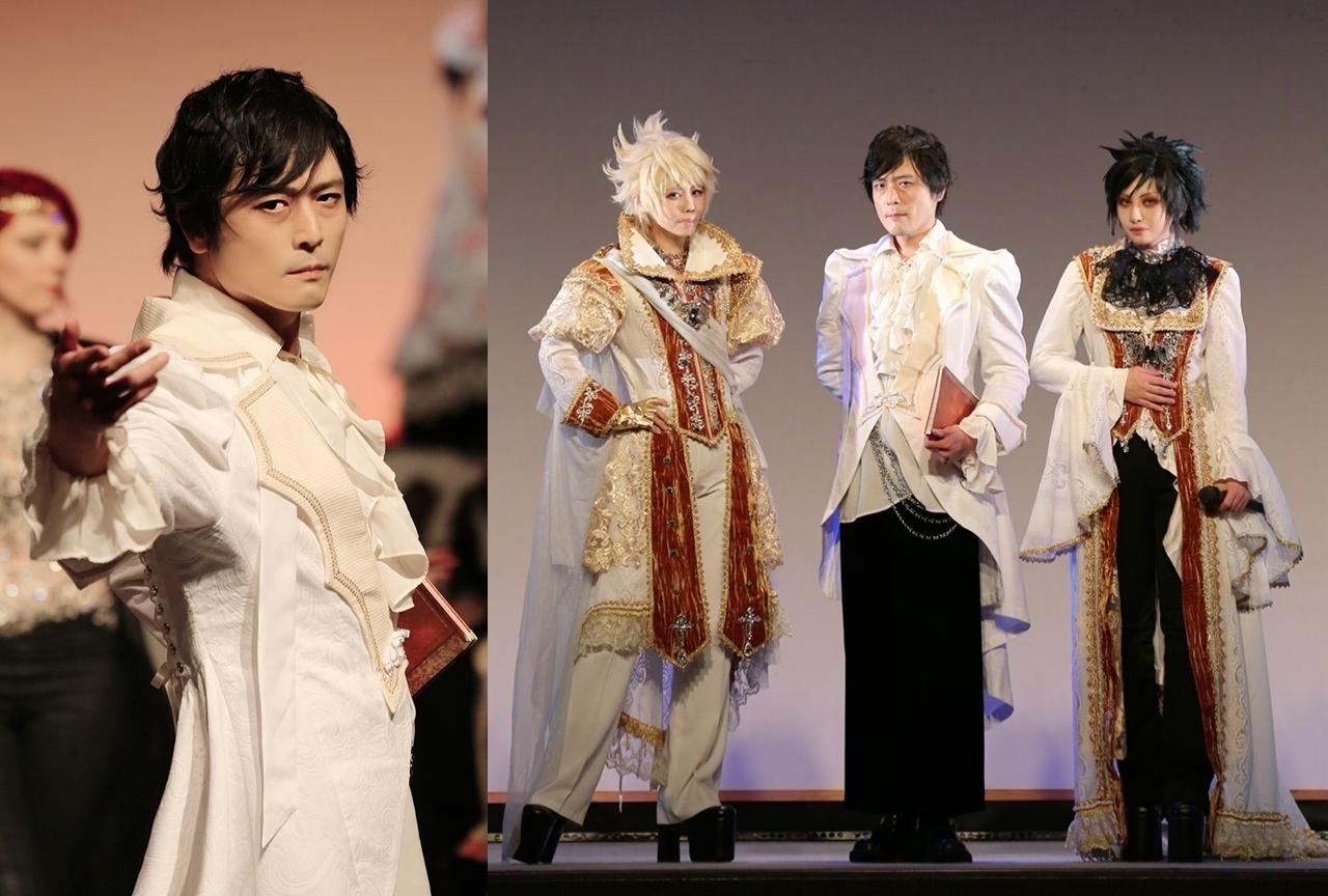 高橋広樹がゴスロリファッションショウに「聖アンジェルース」となって出演!