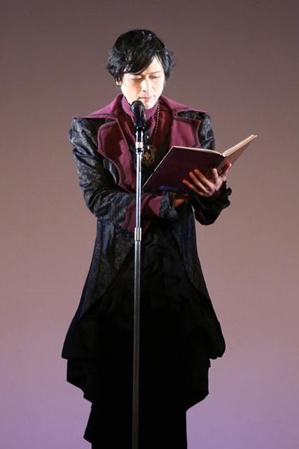 声優・高橋広樹さんが「聖アンジェルース」となってゴスロリファッションショウに顕現! この姿で目の前で囁かれたらときめきも限界突破!