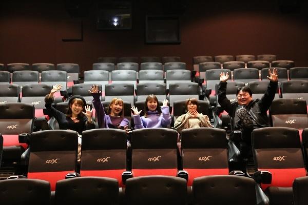 『劇場版 ハイスクール・フリート』4DXを体験した夏川椎菜さん、Lynnさん、黒瀬ゆうこさん、大空直美さんらの感想は?海戦バトルシーンはまさに「衝撃に備えて!」