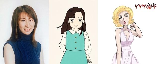 『ゲゲゲの鬼太郎』第93話「まぼろしの汽車」の先行カット到着! 第3期で天童ユメコを演じた、色川京子さんがゲスト出演-10