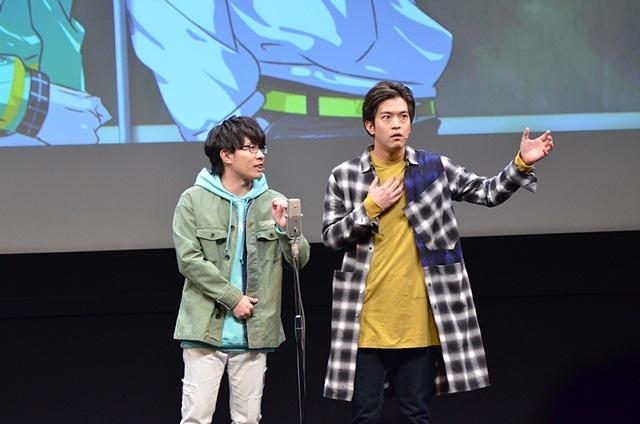 声優×二次元芸人プロジェクト『GETUP! GETLIVE!(ゲラゲラ)』2ndLIVEの公式レポートが到着!3組のお笑いコンビに加え、小西克幸さん演じる劇作家・唐木田も登場し、東京&大阪を笑いの渦で包み込む!-20