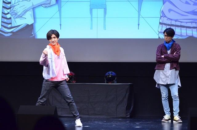 声優×二次元芸人プロジェクト『GETUP! GETLIVE!(ゲラゲラ)』2ndLIVEの公式レポートが到着!3組のお笑いコンビに加え、小西克幸さん演じる劇作家・唐木田も登場し、東京&大阪を笑いの渦で包み込む!-23