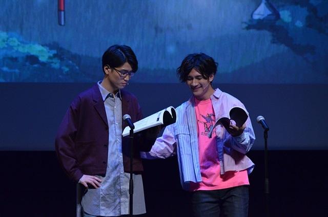 声優×二次元芸人プロジェクト『GETUP! GETLIVE!(ゲラゲラ)』2ndLIVEの公式レポートが到着!3組のお笑いコンビに加え、小西克幸さん演じる劇作家・唐木田も登場し、東京&大阪を笑いの渦で包み込む!-7