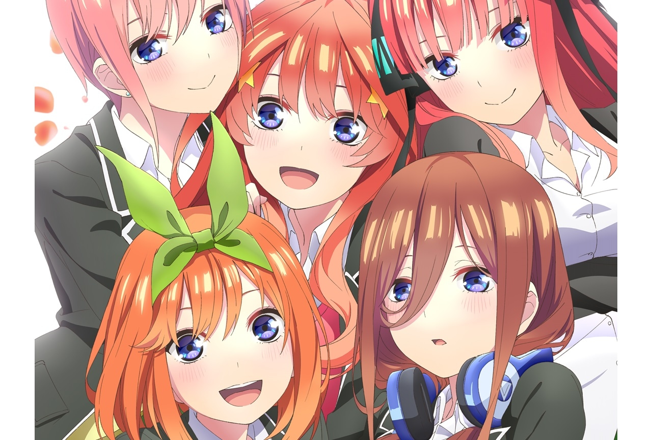 アニメ第2期『五等分の花嫁∬』2020年10月放送!ティザーPV公開