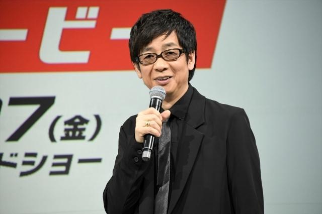 実写映画『ソニック・ザ・ムービー』ソニック役の俳優・中川大志さん&ドクター・ロボトニック役の声優・山寺宏一さんの公開アフレコイベントよりレポート到着-3