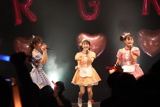 Run Girls, Run!(林鼓子・森嶋優花・厚木那奈美)が「Jewelry Wonderland」を初カバー!「Run Girls, Run! バレンタインイベント!!!  ♡~For you~♡」レポート