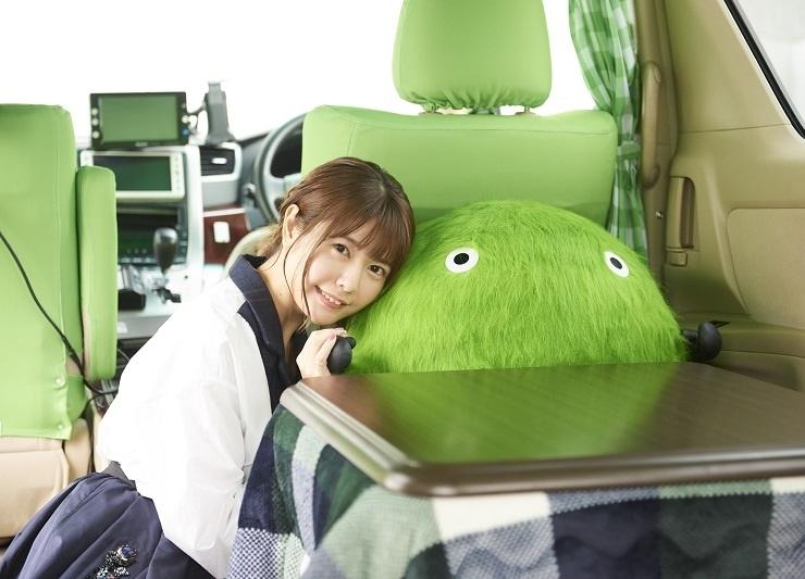 声優・竹達彩奈が「スーモタクシー」に乗車体験