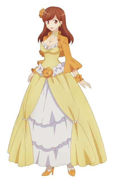 「乙女ゲームの破滅フラグしかない悪役令嬢に転生してしまった…」メアリ・ハント(岡咲美保)