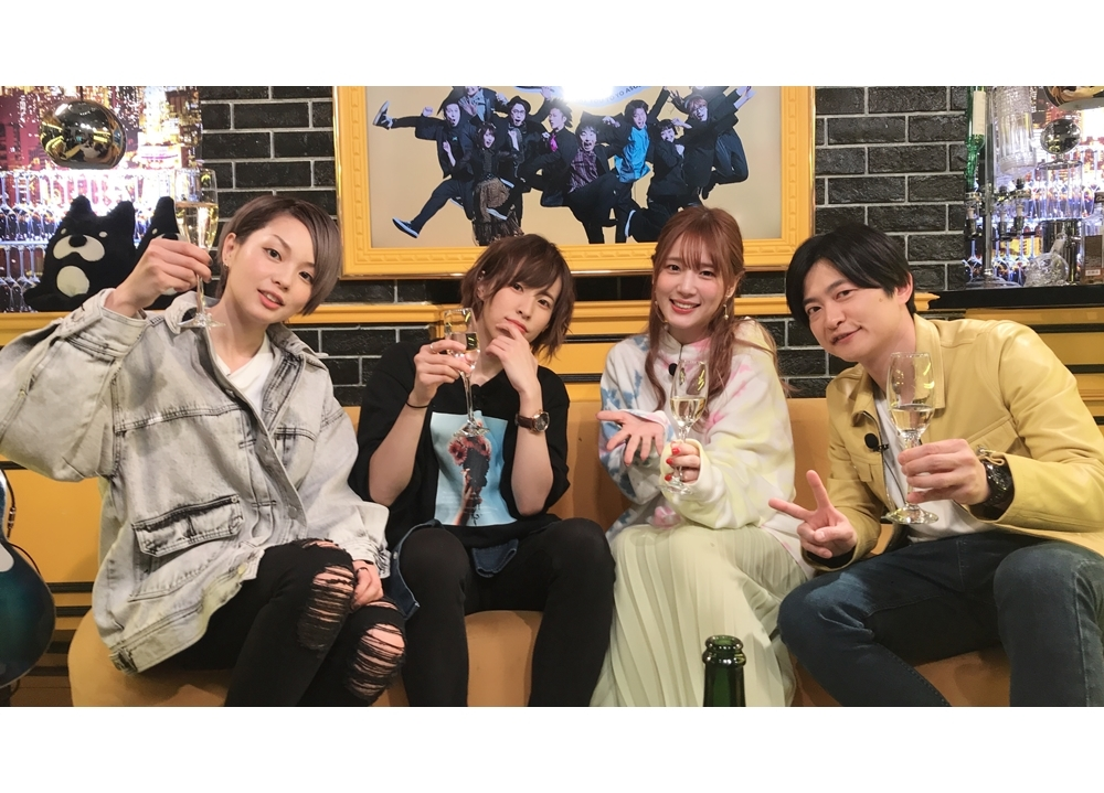『声優と夜あそび【水:下野紘×内田真礼】#44』の公式レポ到着!