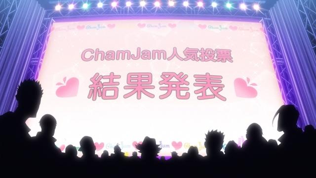 『推しが武道館いってくれたら死ぬ』第8話「わたしの未来にいてほしい」の先行カット到着! 『ChamJam』メンバーは、それぞれが他メンバーの握手会の様子を観察して……!? 第7話場面カットも公開