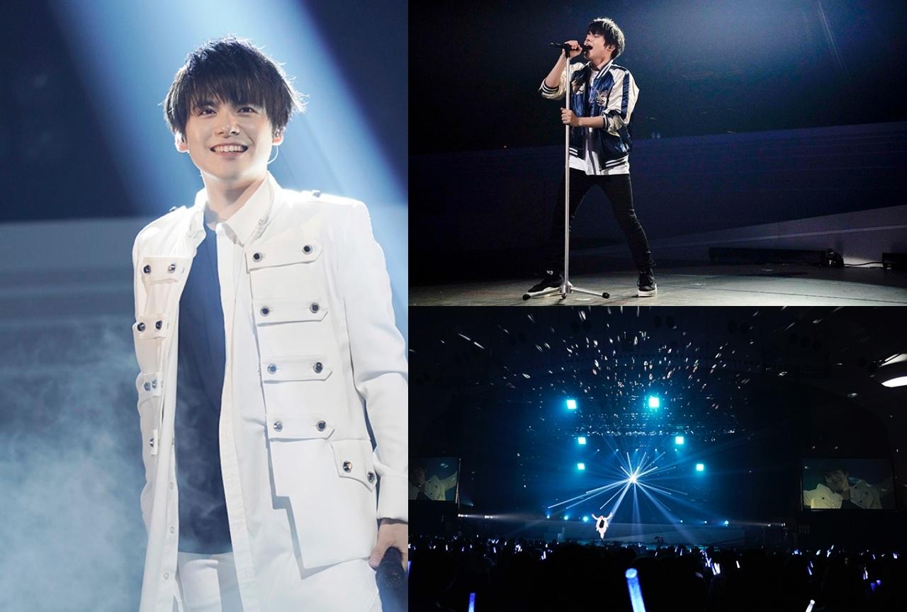 内田雄馬のライブツアー追加公演の公式レポートが到着!