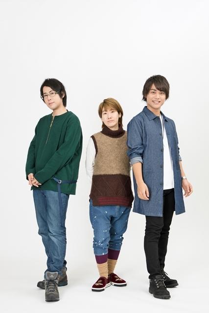 『劇場版 声優男子ですが・・・?』河本啓佑さん・白井悠介さん・山本和臣さんの初日取材会オフィシャルインタビュー到着!