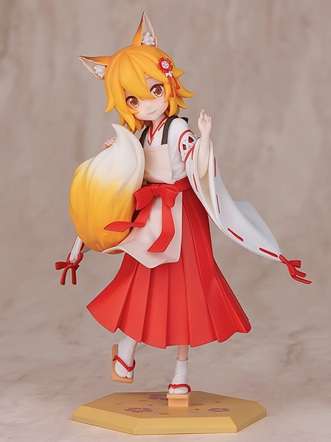 TVアニメ『世話やきキツネの仙狐さん』より、「仙狐」さんのスケールフィギュアが登場! もふもふの尻尾の表現が素晴らしすぎる!【今なら20%OFF!】-2