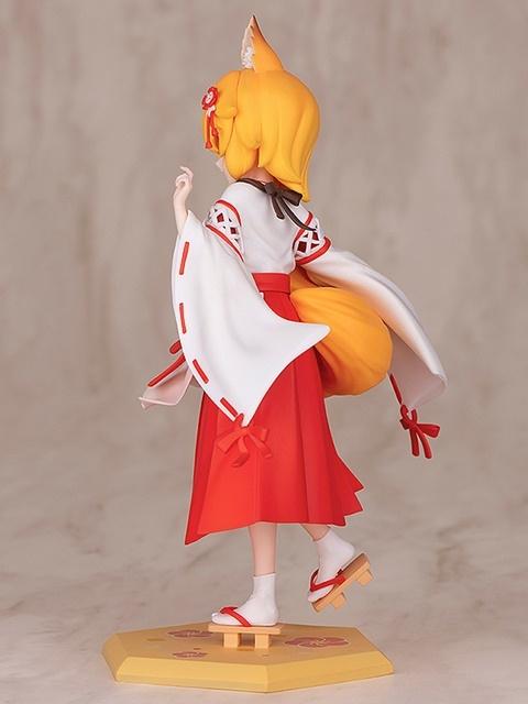 TVアニメ『世話やきキツネの仙狐さん』より、「仙狐」さんのスケールフィギュアが登場! もふもふの尻尾の表現が素晴らしすぎる!【今なら20%OFF!】-4