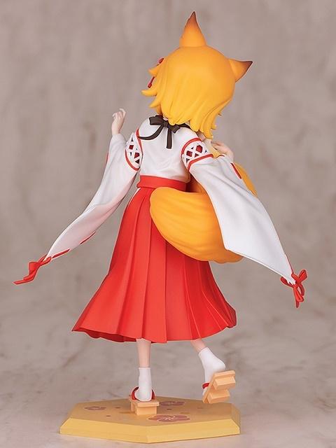 TVアニメ『世話やきキツネの仙狐さん』より、「仙狐」さんのスケールフィギュアが登場! もふもふの尻尾の表現が素晴らしすぎる!【今なら20%OFF!】-6
