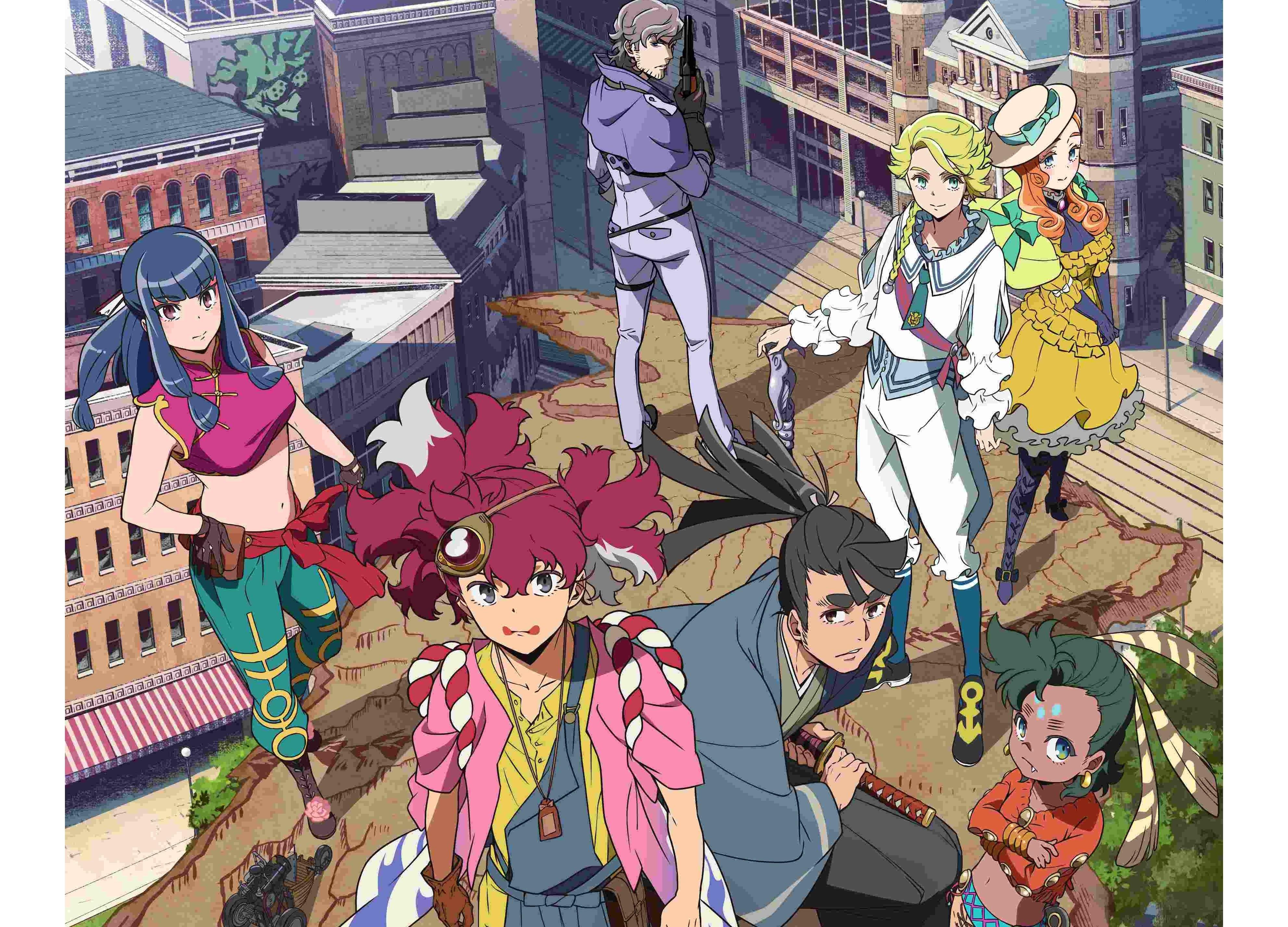 TVアニメ『天晴爛漫!』2020年4月10日(金)より放送開始