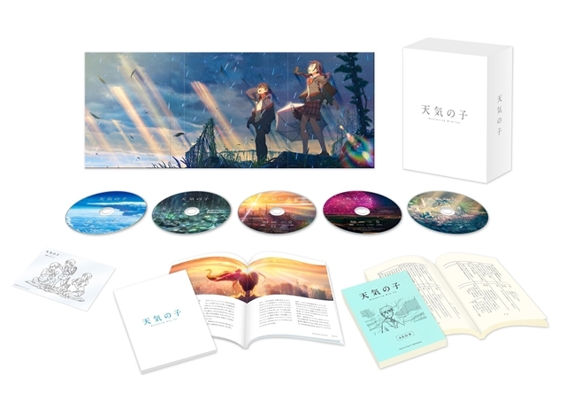 映画『天気の子』Blu-rayコレクターズ・エディション収録の新海誠監督による<ビデオコンテ>の一部が公開!