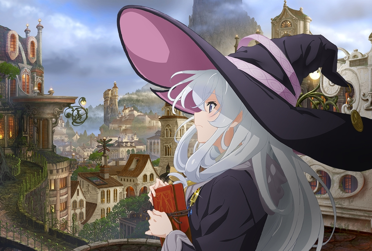 TVアニメ『魔女の旅々』第2弾ビジュアル到着
