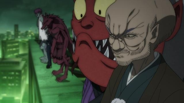 『ゲゲゲの鬼太郎』第95話「妖怪大同盟」の先行カット到着! バックベアードとぬらりひょんが手を組んだ!? 鬼太郎は総理を説得しようと……-3