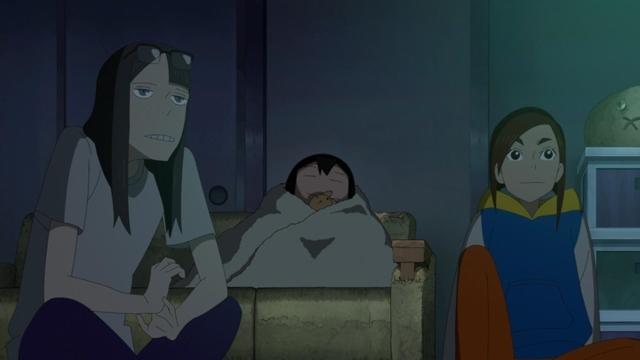 冬アニメ『映像研には手を出すな!』最終話・第12話「芝浜UFO大戦!」の先行場面カット公開! ラストを作り直すという浅草の結論に、金森と水崎は……-11