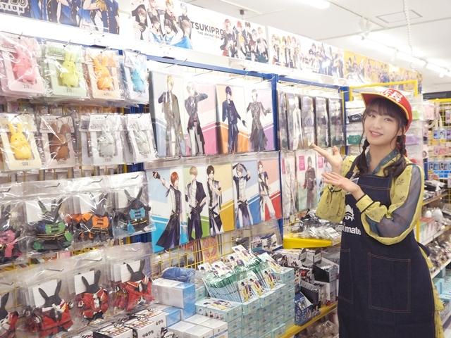 『アニメイト福岡パルコ』3/28移転リニューアルオープン! HKT48田島芽瑠さんが、3/27開催のメディア向け内覧会に登場-4