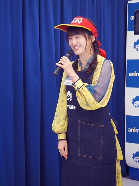 『アニメイト福岡パルコ』3/28移転リニューアルオープン! HKT48田島芽瑠さんが、3/27開催のメディア向け内覧会に登場-6