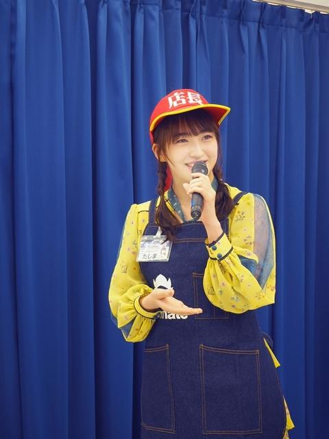 『アニメイト福岡パルコ』3/28移転リニューアルオープン! HKT48田島芽瑠さんが、3/27開催のメディア向け内覧会に登場-7