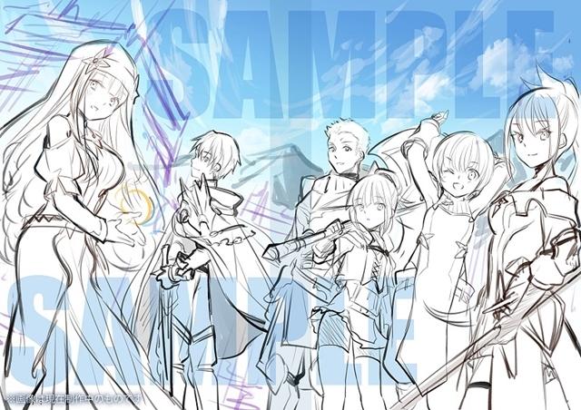 TVアニメ『八男って、それはないでしょう!』BD-BOX特典イラストのラフ公開! スマホゲーの新情報も到着-2