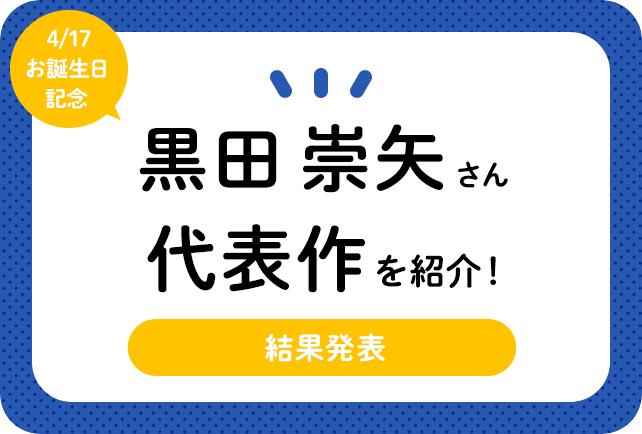 声優・黒田崇矢さん、アニメキャラクター代表作まとめ(2020年版)
